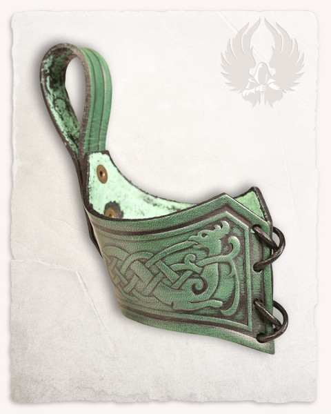 Castagir horn holder green