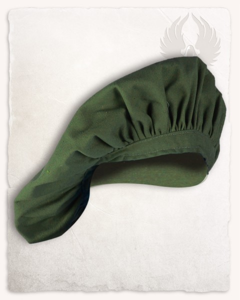 Stefan beret wool green