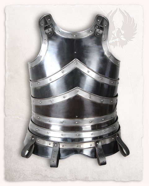 Edward torso armour browned with blank bordering
