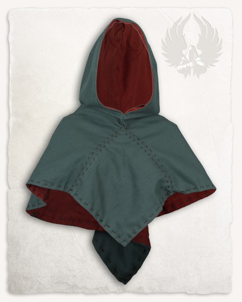 Halaif hood premium canvas green/copper