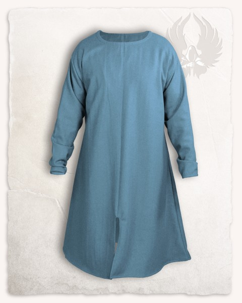 Wolfram long Tunic wool lightblue S discontinued