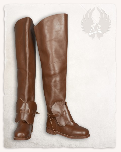 Porthos musketeer boots brown