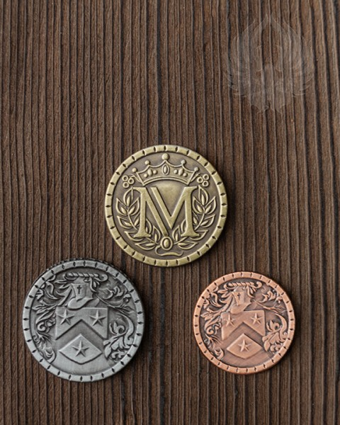 Larp coins Middle Ages