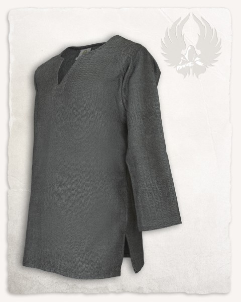 Tronde tunic herringbone grey Limited Edition