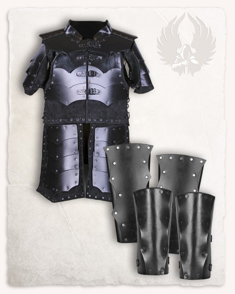 Rasmus armour set black