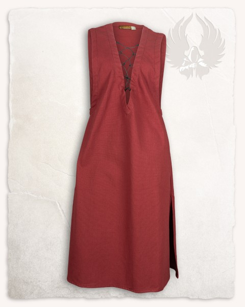 Lenora sleeveless tunic cotton bordeaux
