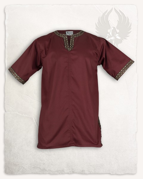 Sigbert tunic bordeaux