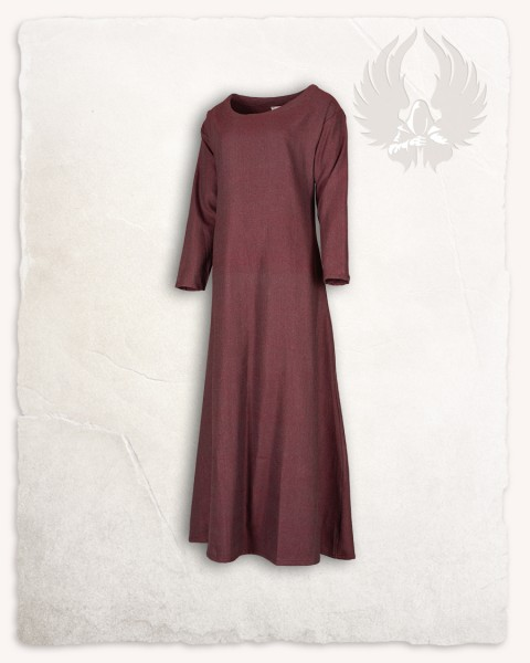 Lenora ladies tunic herringbone bordeaux Limited Edition