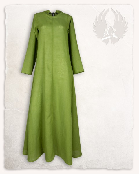 Marita chemise linen moss green LIMITED EDITION