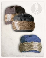 Ragi fur cap wool