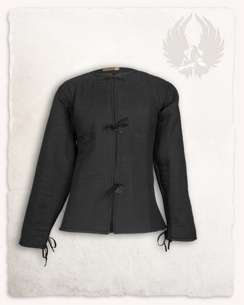 Aulber gambeson jacket linen