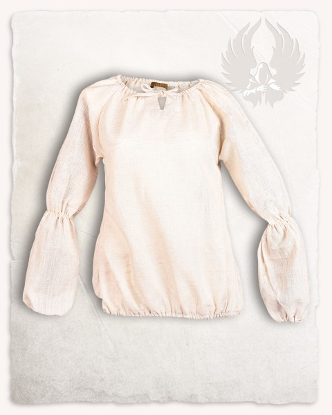Kara blouse linen cream Limited Edition
