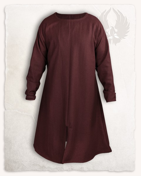 Wolfram long Tunic wool brown