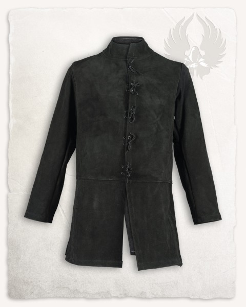 Tilly jacket suede black