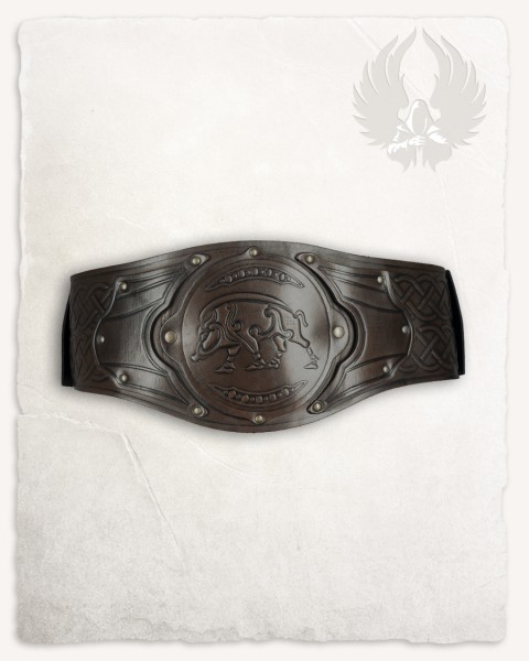 Floki Viking belt boar brown