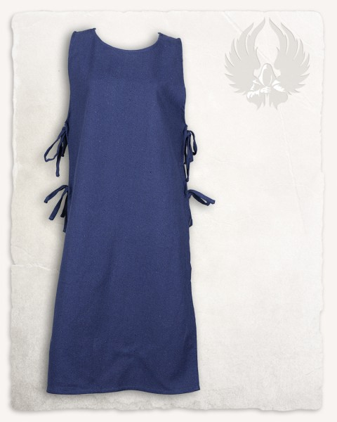 Ormhild apron dress canvas blue LIMITED EDITION