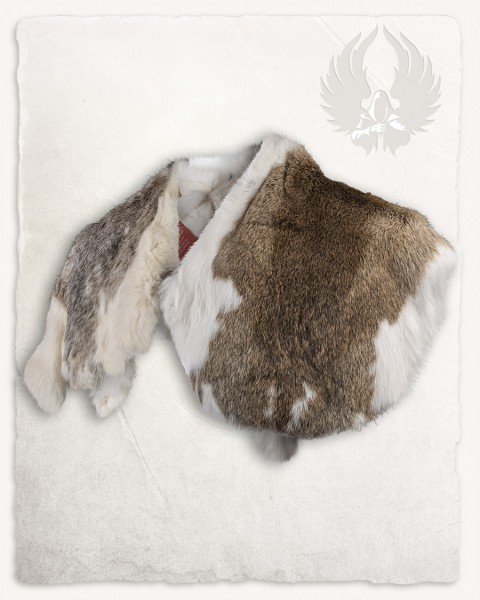 Fur collar English Rabbit