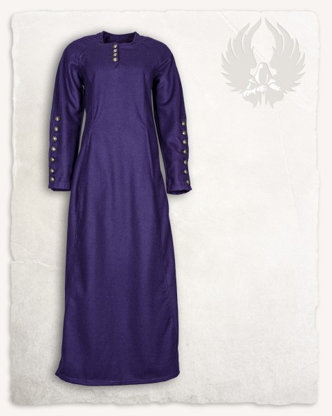 Jovina Kleid Wolle lila LIMITED EDITION
