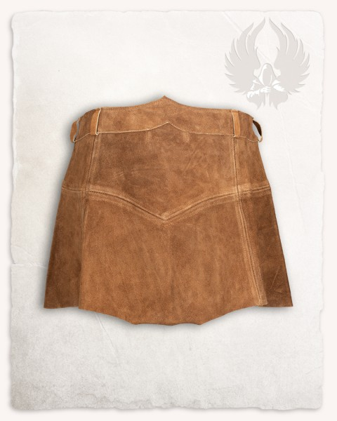 Nuala skirt suede light brown