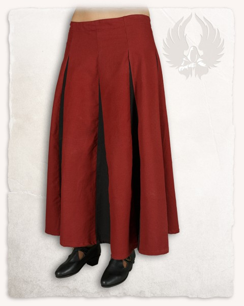 Isabell skirt bordeaux/black discontinued
