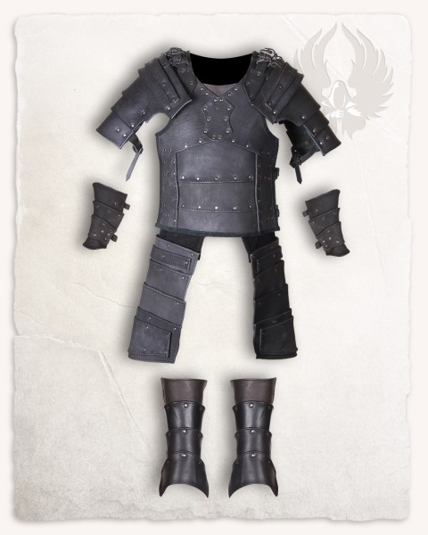 Albrecht armour set black