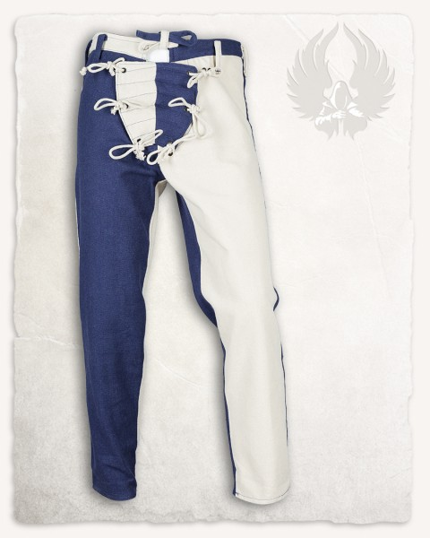 Gustav pants canvas blue/cream LIMITED EDITION