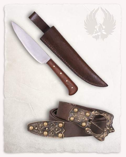 Farmer´s knife set with belt