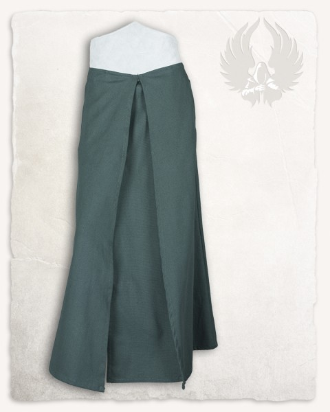 Brielle overskirt canvas green/white