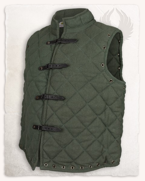 Arthur gambeson vest canvas green