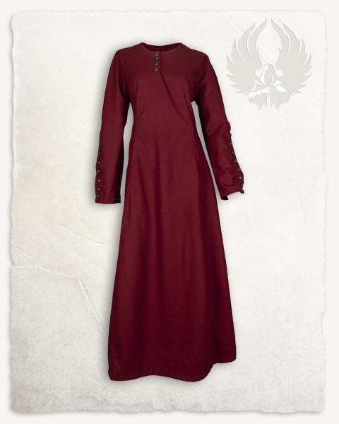 Jovina Kleid Wolle bordeaux