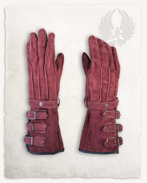 Kandor gloves red LIMITED EDITION