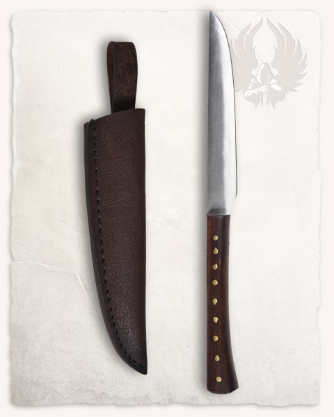 Vera knife with wooden handle