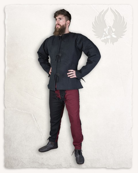 Aulber Gambeson jacket canvas black