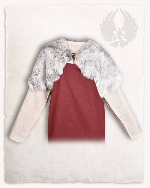 Fur collar Champagne Silver LIMITED EDITION
