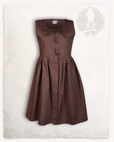 Clara dress brown