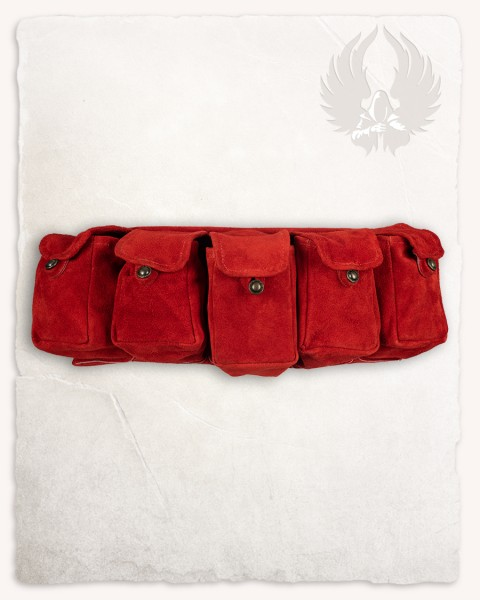 Rickar bag belt red LIMITED EDITION