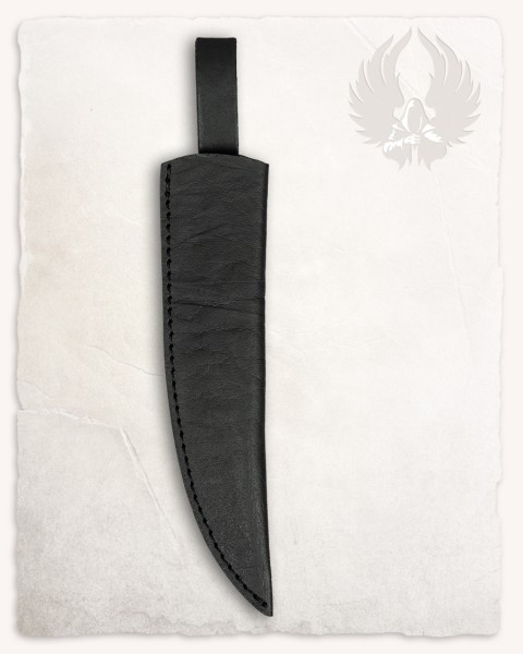 Anselm cooking knife leather sheath black