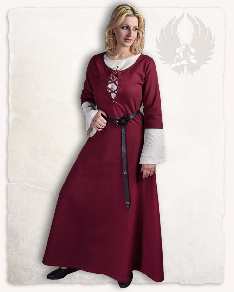 Irene dress bordeaux
