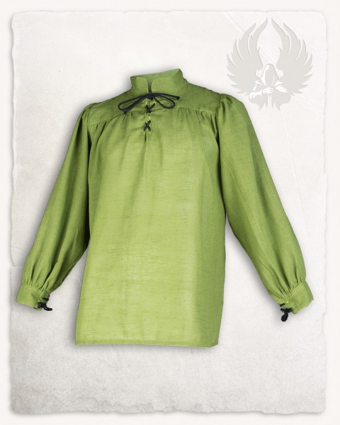 Ansgar Shirt linen moss green LIMITED EDITION