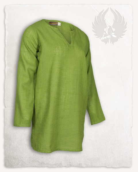 Tronde tunic linen moss green LIMITED EDITION