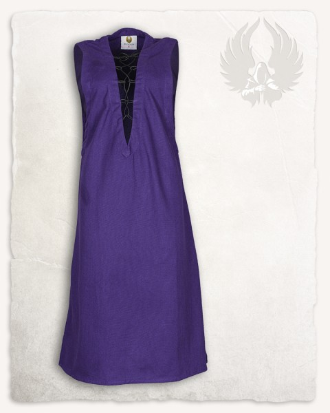Lenora sleeveless tunic premium canvas purple LIMITED EDITION