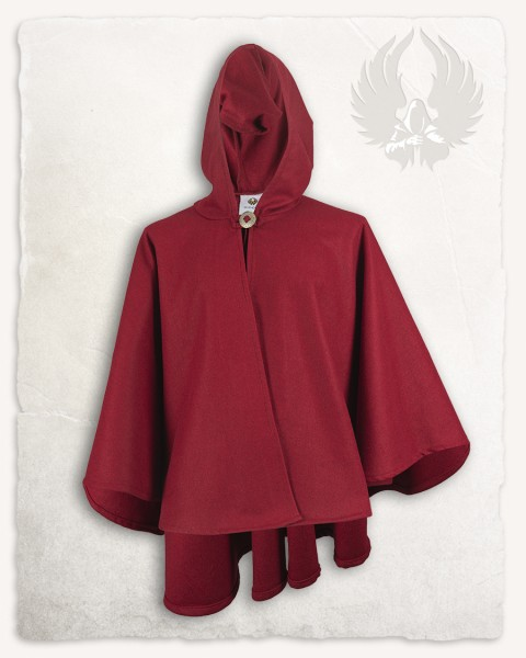 Kim cloak wool bordeaux limited edition
