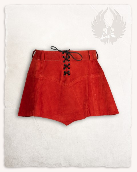 Nuala skirt suede red LIMITED EDITION