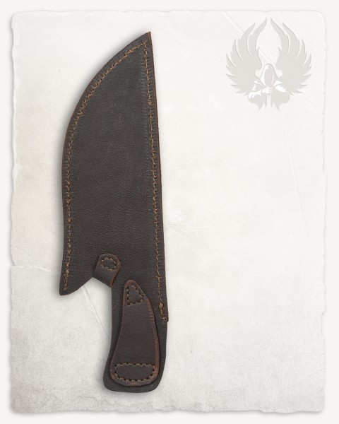 Witold leather sheath for hunting knife brown