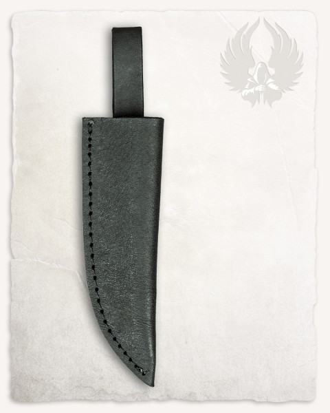 Limm knife leather sheath black