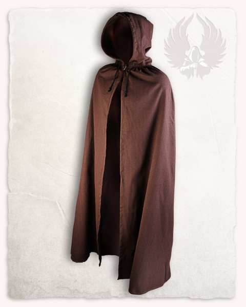 Aaron cloak canvas brown