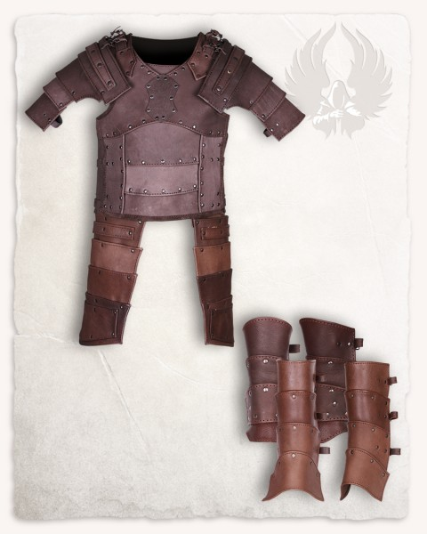 Albrecht armour set brown