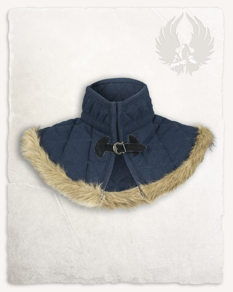 Nimue lined collar wool blue LIMITED EDITION