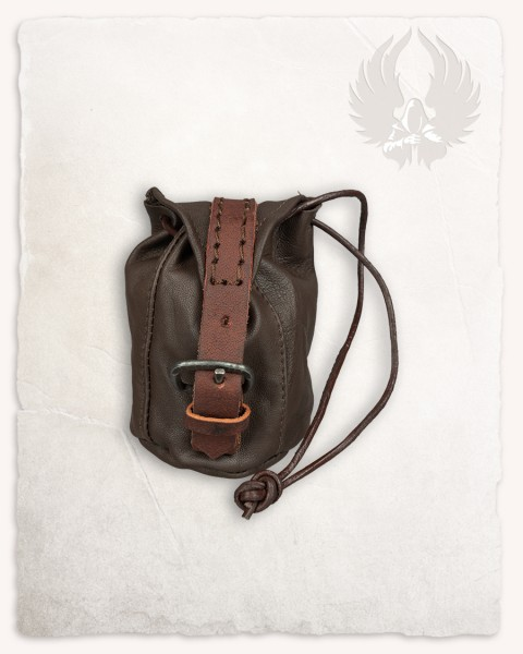 Belwar leather pouch brown