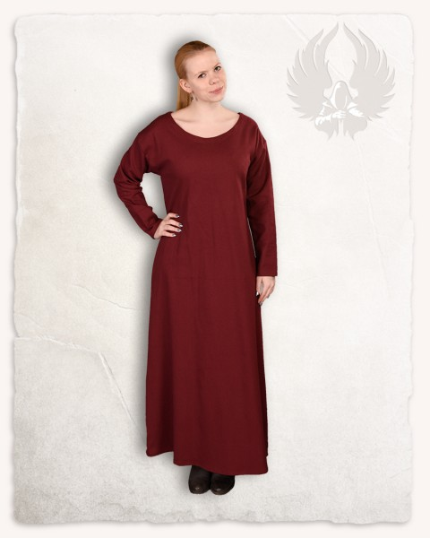 Lenora ladies tunic premium canvas bordeaux